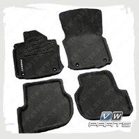 Коврики передние и задние текстильные VAG 3C1061441HA469