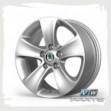 Диск колеса R16 MOON VAG 3T0071496A7ZS