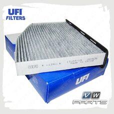 Фильтр салона (угольный) UFI 54.124.00