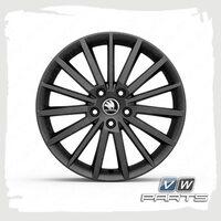Диск колеса R18 TURINI BLACK VAG 5E0071498ZG6