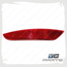 Светоотражатель заднего бампера левый VAG 5K0945105F