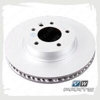 Диск тормозной передний правый VAG 7L6615302P