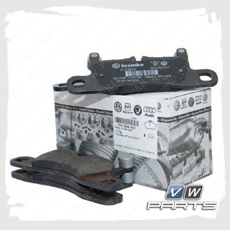 Колодки тормозные задние VAG 7P0698451A