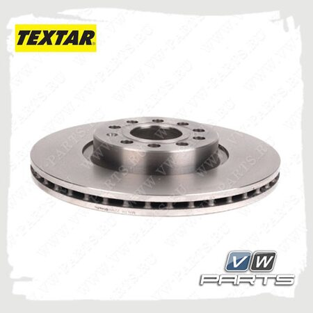 Диск тормозной передний Textar 92120505