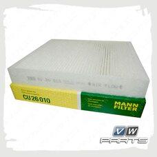 Фильтр салона (бумажный) Mann CU26010