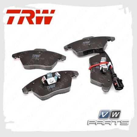 Колодки тормозные передние Trw GDB1762