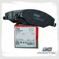 Колодки тормозные передние Trw GDB2027