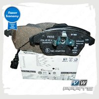 Колодки тормозные передние VAG Economy JZW698151B