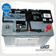 Аккумуляторная батарея VAG Economy (72AH/350A)  JZW915105A