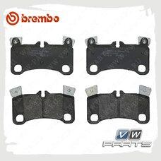 Колодки тормозные задние Brembo P85103