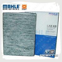Фильтр салона (угольный) Knecht-Mahle LAK63